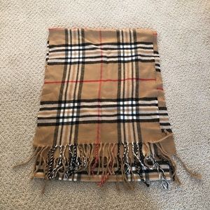 Accessories - Plaid Burberry-Style Scarf Super Soft